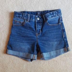 Girls Gap Midi Denim Shorts - Size 10